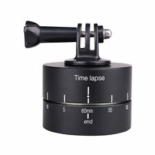 360 Degree Ball Head Panning Rotating Time Lapse Stabilizer Compatible with