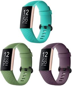 """3 Pack Charge 3 3SE 4 Replacement Silicone Teal Mint Purple LG 7.1"""" - 8.7"""""""