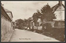 Postcard Ash nr Sandwich Kent the Yew Tree Cottage postman posted 1909 RP Beer