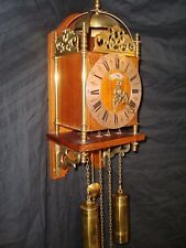 Rare Antique WUBA Warmink Dutch Lantern Clock