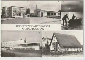 Ansichtskarte Börgerende-Rethwisch - Ferienheim/Verkausstelle/Erholungsheim