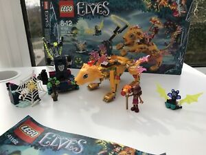 Lego Elves 41192 Azari And The Fire Lion Capture