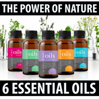 Premium Essential Oils Organic Pure Natural Therapeutic Aromatherapy Gift Set