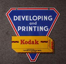 KODAK TWO SIDED HANGING PORCELAIN SIGN/cks/210033
