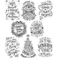 Tim Holtz Rubber Stamp Set - Mini Doodle Greetings CMS-LG 287