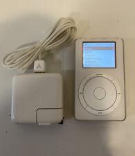 Apple iPod Classic 1st Generation - 5GB - White