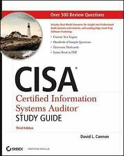 CISA : Certified Information Systems Auditor by David L. Cannon (2011,...