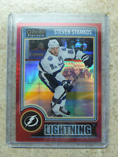 2014-15 OPC O-PEE-CHEE Platinum Red Prizm #62 STEVEN STAMKOS /135