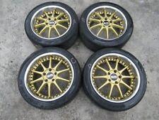 Fit For JDM Blitz Racing Rims Wheel MR2 Supra 17x8J +40 / 17x9J +45 5x114.3