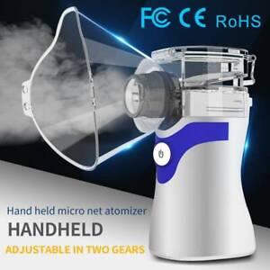 Handheld Portable Ultrasonic Nebulize Inhaler Children Adult Respirator Machine
