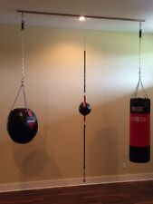 6' TuffRail Heavy Bag Hanging Mounting System & Slide TuffPin