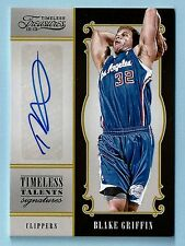 BLAKE GRIFFIN 2012/13 TIMELESS TREASURES TIMELESS TALENTS SIGNATURE AUTO /49