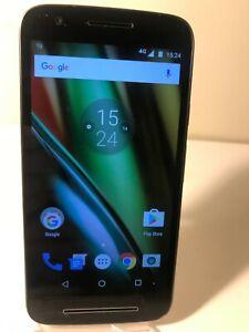 Motorola Moto E3 XT1700 - Black 8GB (Tesco Network) Smartphone Mobile Android