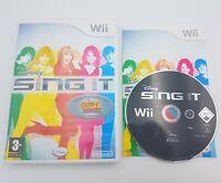 Disney Sing It - Nintendo Wii / Wii U - Free, Fast P&P! - Music, Songs, Singing