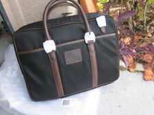 NEW Polo Ralph Lauren Men's Black Canvas Messenger Bag RETAIL $350