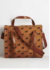 Modcloth Equine Horse Novelty Tote Bag Satchel Nwt