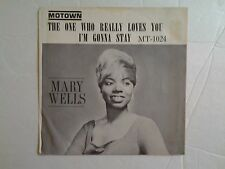 """Mary Wells 45 rpm, """"The One Who Really Loves Me"""""""