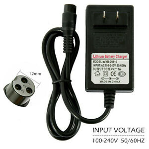24V 1A 24W Adapter Charger Power Cord Supply for Balancing Scooter Hoverboard