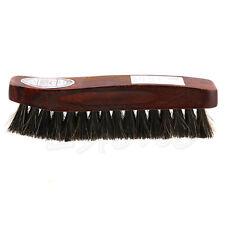 Practical Horse Hair Professional Shoe Shine Polish Buffing Brush Wooden New