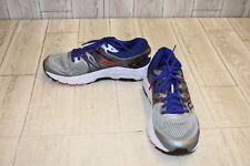 Saucony Omni 16 Running Shoe - Men's Size 7, Gray/Blue/Black