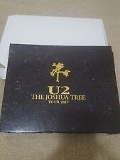 U2 Joshua Tree Tour Concert 2017 Limited Edition Vip Collector's Album set-New