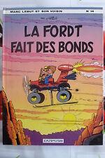 BD marc lebut n°14 la ford T fait des bonds EO 1980 TBE francis