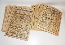 Konvolut 68 Zeitungen DAS TISCHLERGEWERBE 1925-1928 Tischler Fach Zeitschrift