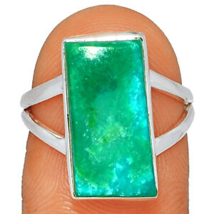 Peruvian Opal 925 Sterling Silver Jewelry Ring s.6.5 BR31917