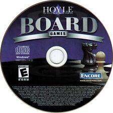 Hoyle Board Games PC Windows XP Vista 7 8 10 New CD-ROM