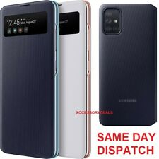 Genuine Samsung S View Flip Case Galaxy A51 mobile cell phone cover sm a515f/ds