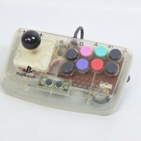 PS1 JUNK HORI COMPACT JOY STICK Fighting Controller HPS-29 Playstation 0809