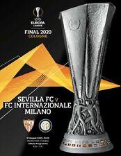 21.8.2020 Programm Europa League Finale in Köln: Inter Mailand - FC Sevilla
