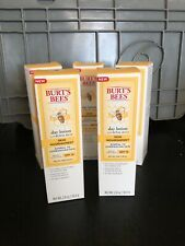 NEW!! Lot of 5 Burts's Bees Day Lotion with Royal Jelly Skin Nourishment 2 oz