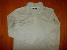 NEW THE NORTH FACE 1/2 ZIP GRAY LONG SLEEVE MOCK NECK PULLOVER MENS XL