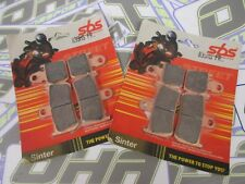 SBS Street Excel Travertino Hh Delantero Pastillas De Freno Para Yamaha MT01 MT-01 2007-2012 Nuevo