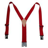 New Perry Suspenders Men's Elastic Hook End Suspenders