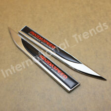 2X MAZDA SPEED Skirt Knife Side Badge Auto Car Body Fender Emblems for MAZDA