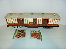 LONDON TRAIN MUSEUM PASSENGER TRAIN CARS CUSTOM BUILT ONE OF A KIND G GAUGE SIZE