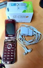 Samsung GT-C3590 rouge bordeau