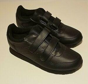 Cross Trekkers Men's Double Strap Non-Marking Black Size 8.5W Shoes