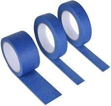NEW CLEAN PEEL BLUE PAINTERS MASKING TAPE 24MM-48MM x 50M UV RESISTANT LONG LAST
