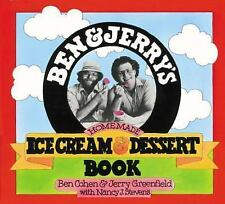 Ben and Jerry's Homemade Ice Cream and Dessert Book by Ben Cohen, Jerry...