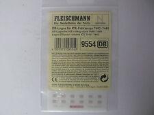 Fleischmann N - 9554 DB-Logos Aufkleber für ICE-Wagen 7440 - 7449 - Neu & OVP