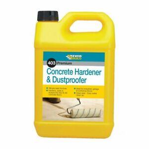 Everbuild 403 Concrete Floor Hardener Dustproofer Sealer 5 Litre Dust Proofer