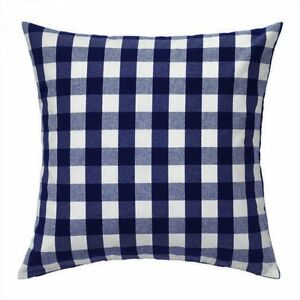 """Gingham checkered polyester 18""""x 18""""  Pillow Cover - Home Decor 1 Cover"""