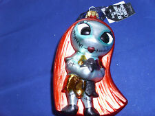 Disney * SALLY * Glass - New Nightmare Before Christmas Holiday Ornament