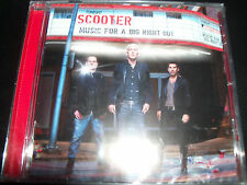Scooter Music For A Big Night Out (Australia Central Station Records) CD - New
