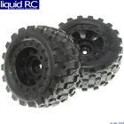 Redcat Racing 13657 Wheels Complete (Redcat Racingonly) 2 pieces