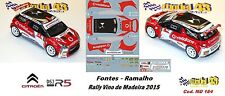 CITROEN DS3 R5  -  FONTES  - Rally  MADEIRA   2015