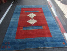Gorgeous S/Antique Hand Made Fine Wool Persian Gabeh Rug 290x210-cm / 114.1x82.6